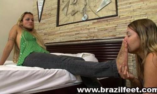 gabrielas first foot domination brazil feet