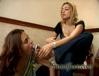 brazil feet - milly