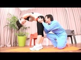 Japanese Girl Farts Workout Farts