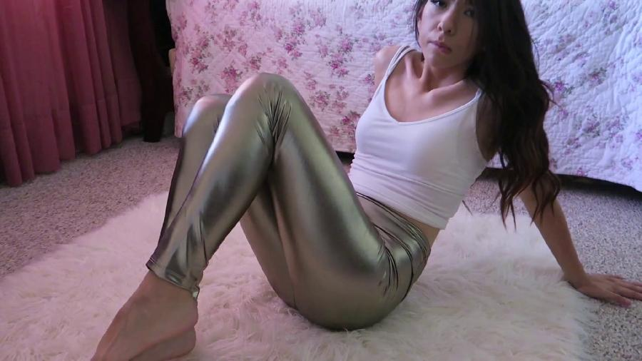 bella park  shiny leggings hd